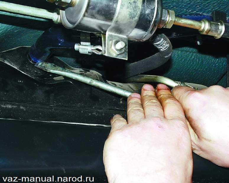 Замена бензонасоса ваз 21074 инжектор