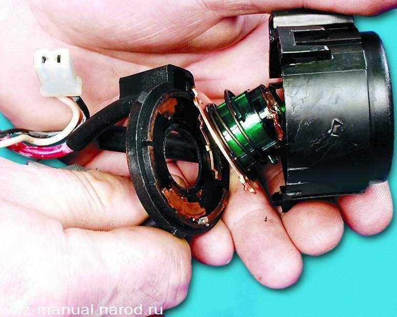 Фото №29 - устройство замка зажигания ВАЗ 2110
