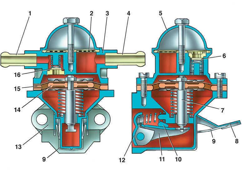 Фото №18 - топливный насос ВАЗ 2110 устройство