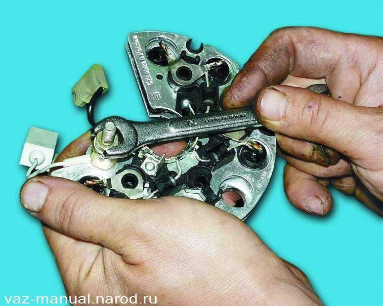 Фото №10 - как отремонтировать генератор на ВАЗ 2110