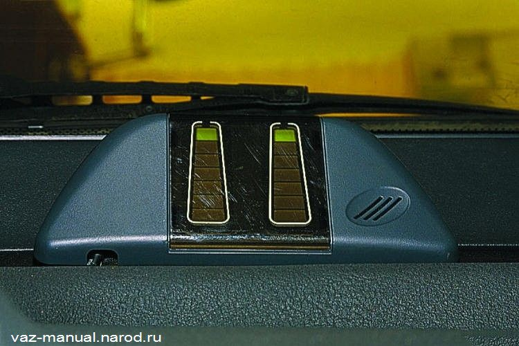 Фото №3 - как установить парктроник на ВАЗ 2110